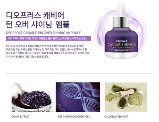 Caviar Shining Turn Over Ampoule