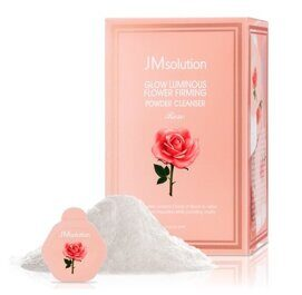 Glow Luminous Flower Firming Powder Cleanser Rose