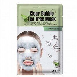 Clear Bubble Tea Tree Mask