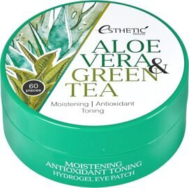 Aloe Vera&Green Tea Hydrogel Eye Patch