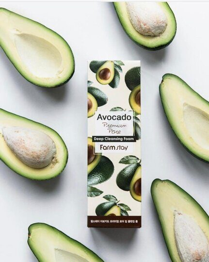 Avocado Premium Pore Deep Cleansing Foam