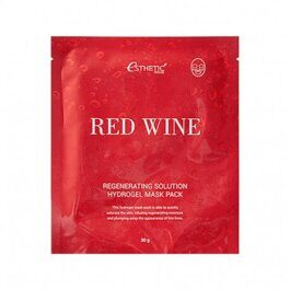 Red Wine Regenerating Solution Hydrogel Mask Pack