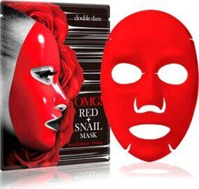 Red + Snail Mask
