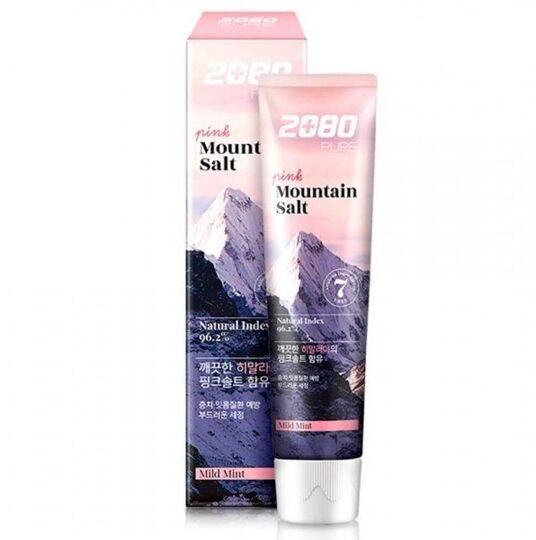 Dental Clinic 2080 Pure Pink Mountain Salt Toothpaste Mild Mint