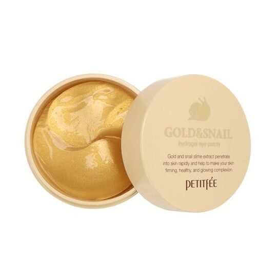 Gold & Snail Eye Patch